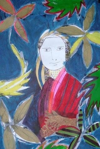 200 x 300 cm Acryl auf Papier 2008
